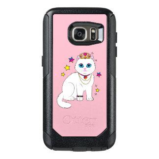 Coque OtterBox Samsung Galaxy S7 Princesse Cat avec les étoiles et le diadème
