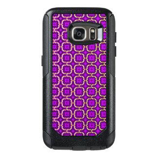 Coque OtterBox Samsung Galaxy S7 Quatrefoil barbelé fleuri (couleur réglable)