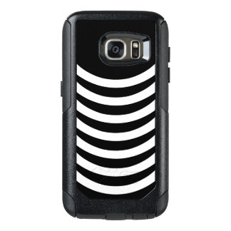 Coque OtterBox Samsung Galaxy S7 Rayures noires et blanches