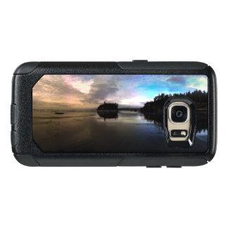 Coque OtterBox Samsung Galaxy S7 Réflexion rouge de coucher du soleil de plage