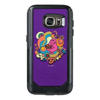 Coque OtterBox Samsung Galaxy S7 Remous colorés et étoiles de M. Greedy |