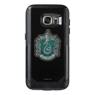 Coque OtterBox Samsung Galaxy S7 Rétro Slytherin crête puissante de Harry Potter |