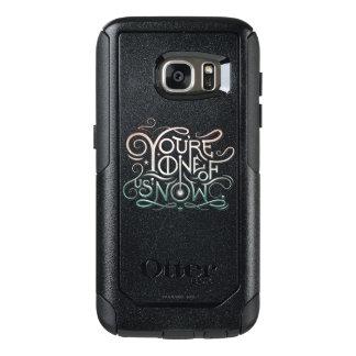 Coque OtterBox Samsung Galaxy S7 Vous êtes l'un de nous maintenant graphique coloré
