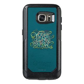 Coque OtterBox Samsung Galaxy S7 Vous êtes l'un de nous maintenant graphique vert