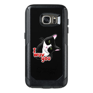 Coque OtterBox Samsung Galaxy S7 Wuv I vous chat