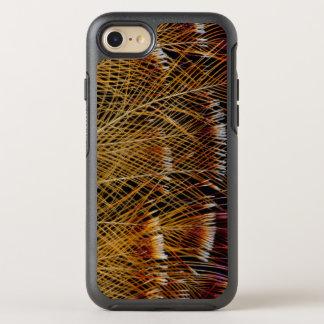 Coque OtterBox Symmetry iPhone 8/7 Abrégé sur jaune conception de plume