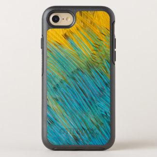 Coque OtterBox Symmetry iPhone 8/7 Abrégé sur plume de perroquet d'Amazone