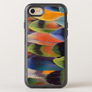 Coque OtterBox Symmetry iPhone 8/7 Abrégé sur plumes de queue de perruche