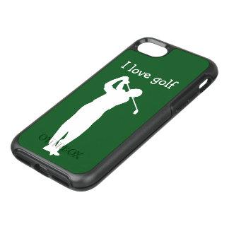 Coque OtterBox Symmetry iPhone 8/7 Cas de Smartphone de thème de golf