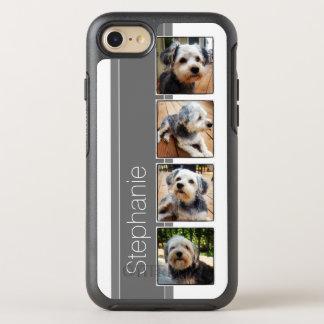 Coque OtterBox Symmetry iPhone 8/7 Collage de photo d'Instagram utilisant des cadres