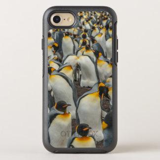 Coque OtterBox Symmetry iPhone 8/7 Colonie de pingouin de roi, Malouines