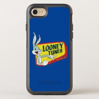 Coque OtterBox Symmetry iPhone 8/7 Correction LOONEY du ™ TUNES™ de BUGS BUNNY rétro