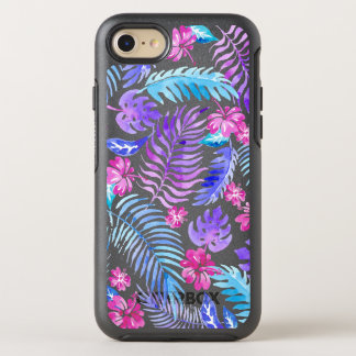 Coque OtterBox Symmetry iPhone 8/7 Fleurs exotiques