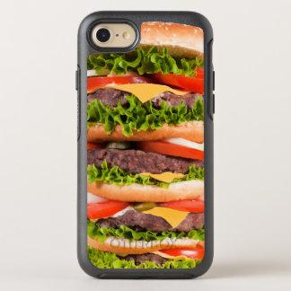 Coque OtterBox Symmetry iPhone 8/7 Hamburger drôle