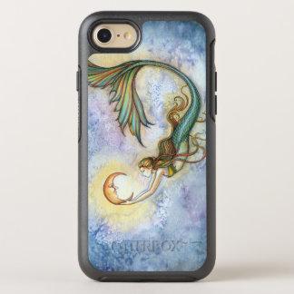 Coque OtterBox Symmetry iPhone 8/7 Illustration d'art d'imaginaire de sirène de lune