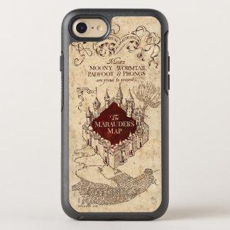 Coque OtterBox Symmetry iPhone 8/7 La carte du maraudeur du charme | de Harry Potter