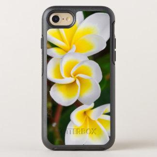 Coque OtterBox Symmetry iPhone 8/7 Le Plumeria fleurit le plan rapproché, Hawaï