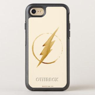 Coque OtterBox Symmetry iPhone 8/7 L'emblème   jaune instantané de coffre