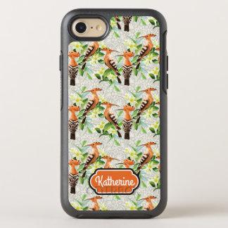 Coque OtterBox Symmetry iPhone 8/7 Les oiseaux exotiques sur la dentelle   ajoutent