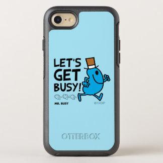 Coque OtterBox Symmetry iPhone 8/7 M. Busy   nous a laissés obtenir le texte noir