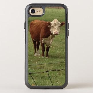 Coque OtterBox Symmetry iPhone 8/7 Miel de Hereford dans les pâturages verts