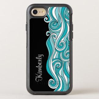 Coque OtterBox Symmetry iPhone 8/7 Monogramme de plage