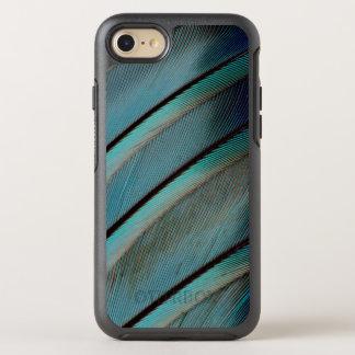 Coque OtterBox Symmetry iPhone 8/7 Motif bleu de plume