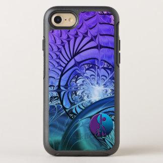 Coque OtterBox Symmetry iPhone 8/7 Paix de Yin-Yang de fractale