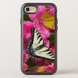 Coque OtterBox Symmetry iPhone 8/7 Papillon de machaon sur le rose
