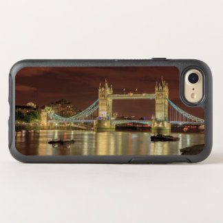 Coque OtterBox Symmetry iPhone 8/7 Pont de tour la nuit, Londres