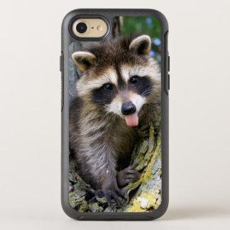 Coque OtterBox Symmetry iPhone 8/7 Raton laveur de bébé