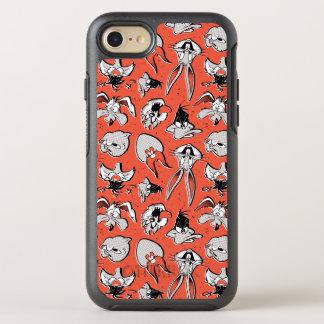 Coque OtterBox Symmetry iPhone 8/7 Rétro motif tramé LOONEY de TUNES™