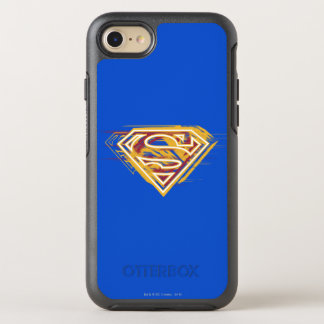 Coque OtterBox Symmetry iPhone 8/7 S-Bouclier logo jaune et rouge de | de Superman
