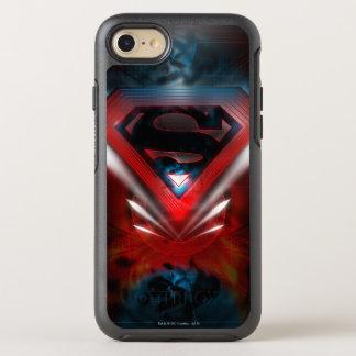 Coque OtterBox Symmetry iPhone 8/7 Superman a stylisé le logo futuriste de  
