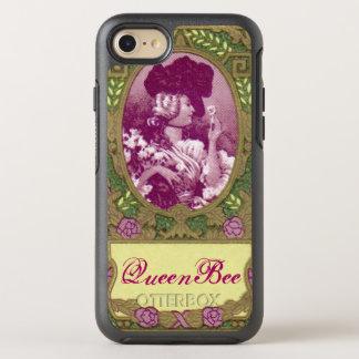 Coque OtterBox Symmetry iPhone 8/7 Téléphone français antique de parfum de reine des