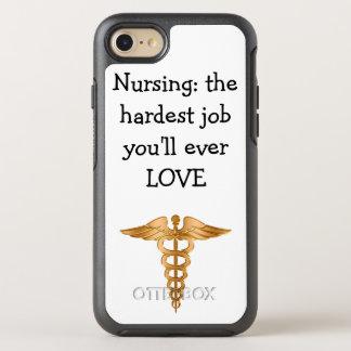 Coque OtterBox Symmetry iPhone 8/7 Thème d'infirmière