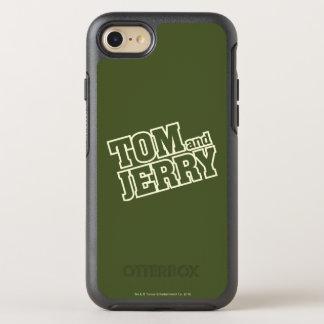 Coque OtterBox Symmetry iPhone 8/7 Tom et logo 3 de Jerry