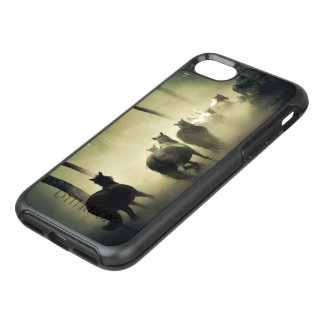 Coque OtterBox Symmetry iPhone 8/7 Troupeau de cheval dans la brume