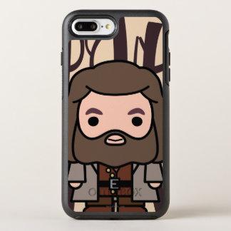 Coque OtterBox Symmetry iPhone 8 Plus/7 Plus Art de personnage de dessin animé de Hagrid