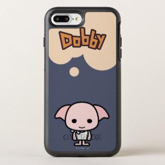 Coque OtterBox Symmetry iPhone 8 Plus/7 Plus Art de personnage de dessin animé de ratière