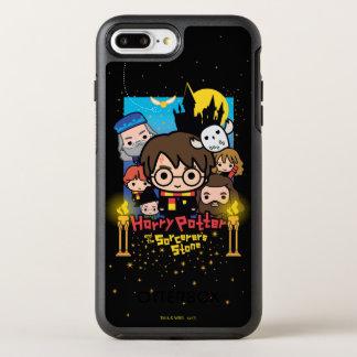 Coque OtterBox Symmetry iPhone 8 Plus/7 Plus Bande dessinée Harry Potter et la pierre du