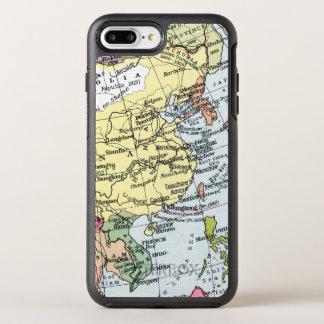 COQUE OtterBox SYMMETRY iPhone 8 PLUS/7 PLUS  CARTE : L'EUROPE EN ASIE