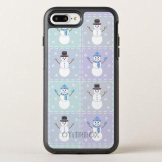 Coque OtterBox Symmetry iPhone 8 Plus/7 Plus Cas de téléphone d'Otterbox d'édredon d'hiver