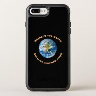 Coque OtterBox Symmetry iPhone 8 Plus/7 Plus Cas plus de l'iPhone 7 d'OtterBox de respect de la