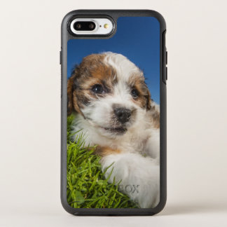 Coque OtterBox Symmetry iPhone 8 Plus/7 Plus Chiot mignon (Shitzu)