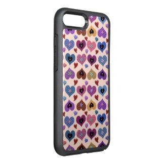Coque OtterBox Symmetry iPhone 8 Plus/7 Plus Coeurs aimés