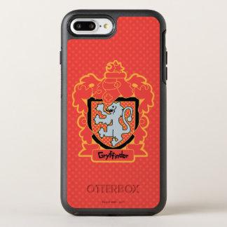 Coque OtterBox Symmetry iPhone 8 Plus/7 Plus Crête de Gryffindor de bande dessinée