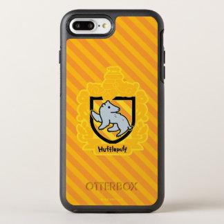 Coque OtterBox Symmetry iPhone 8 Plus/7 Plus Crête de Hufflepuff de bande dessinée