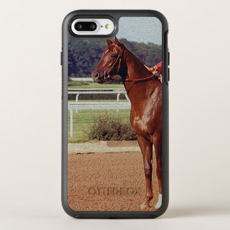Coque OtterBox Symmetry iPhone 8 Plus/7 Plus Défilé 1978 de courrier d'Alydar Belmont Stakes