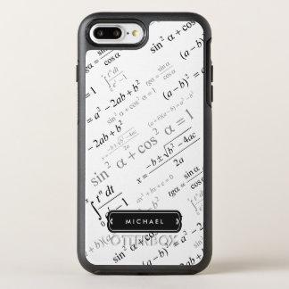Coque OtterBox Symmetry iPhone 8 Plus/7 Plus Formule drôle de maths pour l'étudiant de